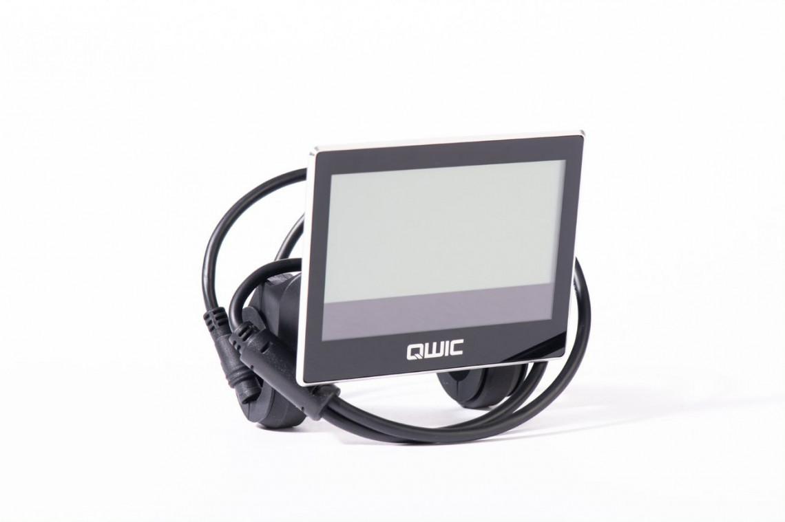 Flatscreen display QWIC e-bikes