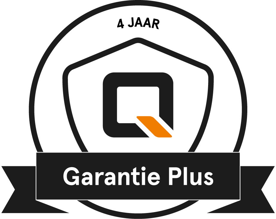 QWIC Garantie Plus badge